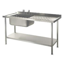 Sinks, Shelving & Tables